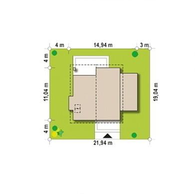 Проект современного дома в два этажа на 184 кв. м с балконом и террасой