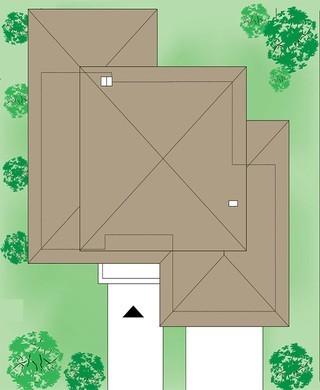 Двухэтажный особняк с уникальной планировкой