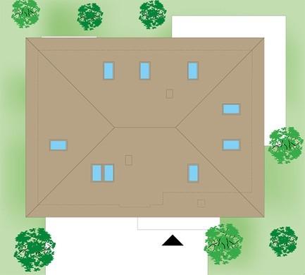 Жилой дом с просторным гаражом и пятью спальнями