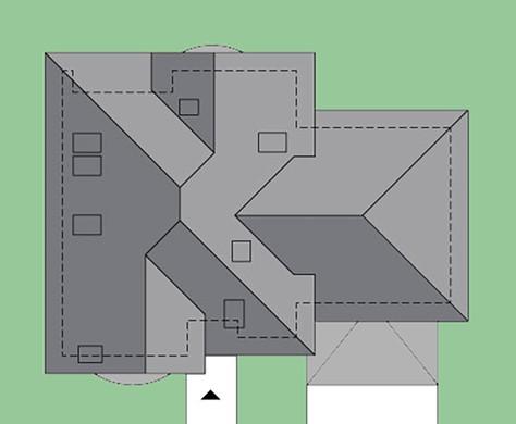 Чертежи восхитительного двухэтажного особняка в средиземноморском стиле