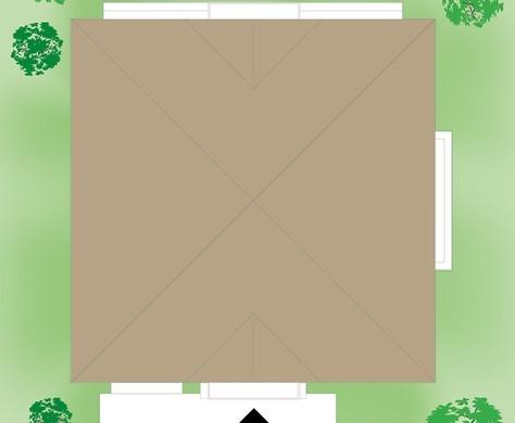 Стильный особняк для загородного участка