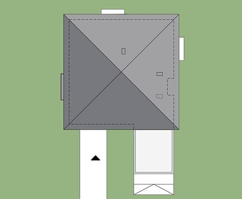 Привлекательный особняк, украшенный кирпичной кладкой
