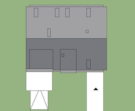 Привлекательный жилой дом с пятью спальнями и гаражом