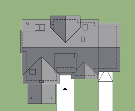 Великолепный дом для загородного участка