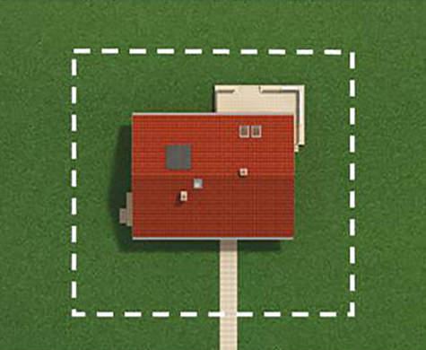 Проект дачного дома в европейском стиле