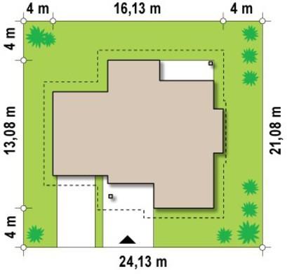 Проект просторного коттеджа функциональной планировки
