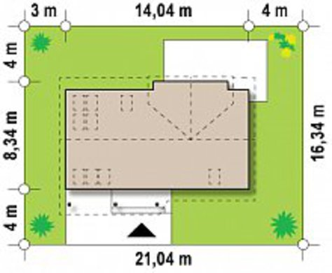 Проект увеличенного коттеджа по типу 4M220