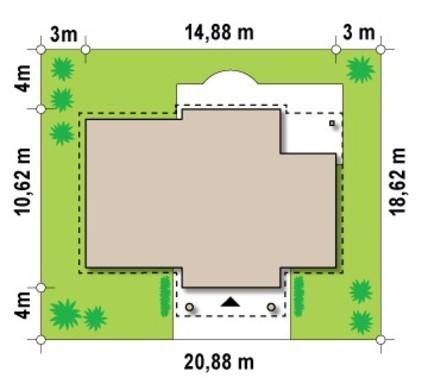 Загородный дом в стиле дворянской усадьбы