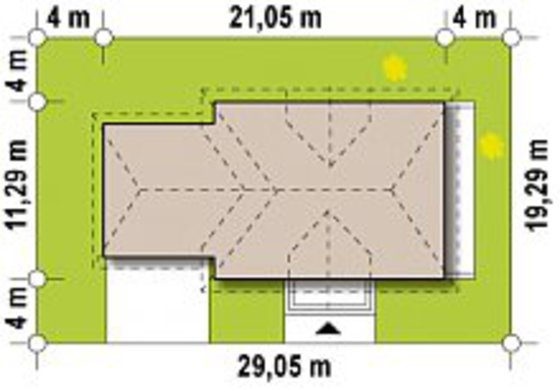Светлый просторный особняк в европейском стиле с видовым балконом