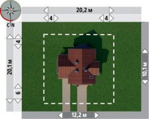 Изысканный загородный особняк с площадью более 150 m²