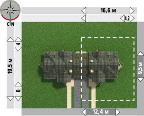 Архитектурный проект коттеджа с изящными балконами