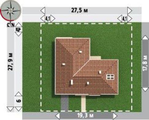 Большой загородный дом с пятью просторными комнатами